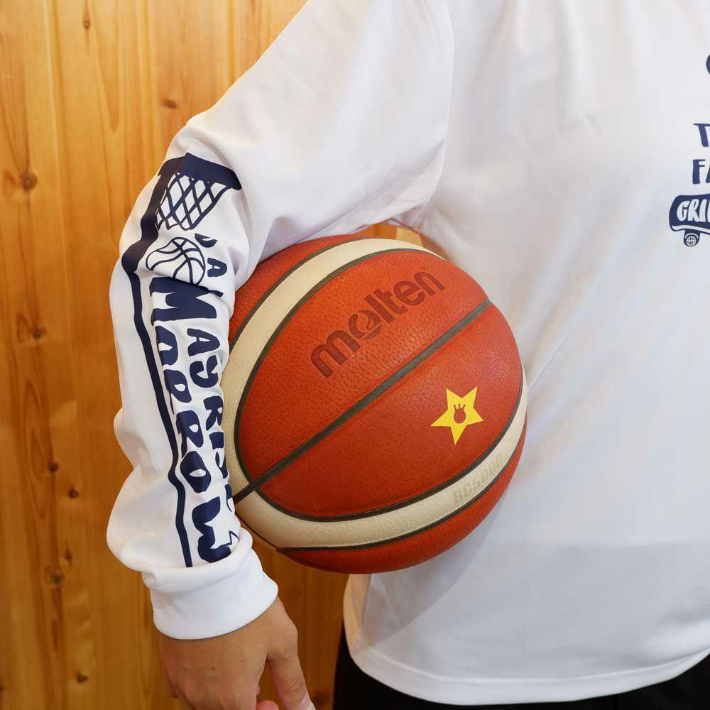 """バスケットボール長袖Tシャツ"""""""
